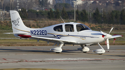 N222ED - Cirrus SR22 - Private