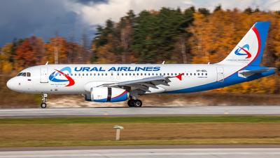 VP-BDL - Airbus A320-232 - Ural Airlines