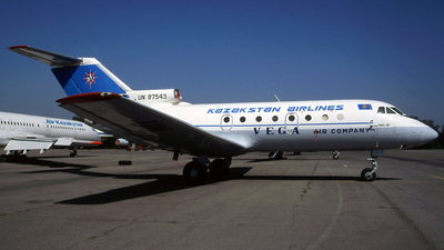UN-87543 - Yakovlev Yak-40 - Vega Air Company