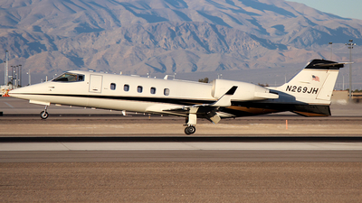 A picture of N269JH - Learjet 60 - [60201] - © Joshua Ruppert