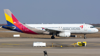 HL7772 - Airbus A320-232 - Asiana Airlines