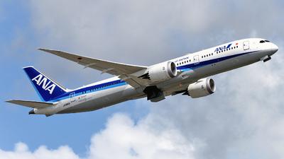 JA885A - Boeing 787-9 Dreamliner - All Nippon Airways (ANA)
