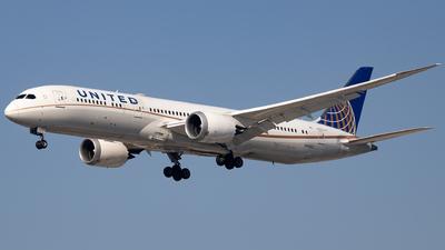 N36962 - Boeing 787-9 Dreamliner - United Airlines