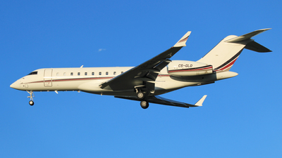 CS-GLD - Bombardier BD-700-1A10 Global 6000 - NetJets Europe