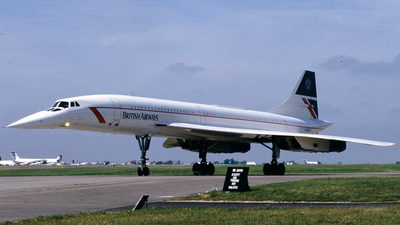 G-BOAG - Aérospatiale/British Aircraft Corporation Concorde - British Airways