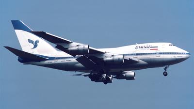 EP-IAB - Boeing 747SP-86 - Iran Air