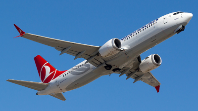 A picture of TCLCD - Boeing 737 MAX 8 - Turkish Airlines - © Bora Polater