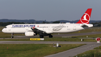 A picture of TCJRN - Airbus A321231 - Turkish Airlines - © Domi Einert