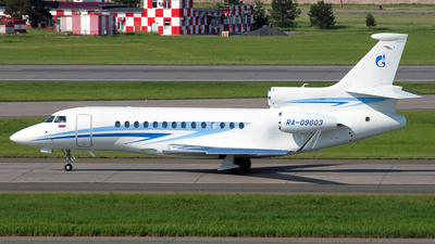 RA-09603 - Dassault Falcon 7X - Gazpromavia