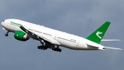 EZ-A780 - Boeing 777-22KLR - Turkmenistan Airlines