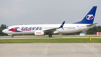 OK-TVT - Boeing 737-86N - Travel Service