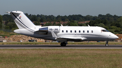A picture of HBJRE - Bombardier Challenger 605 -  - © Terry Figg