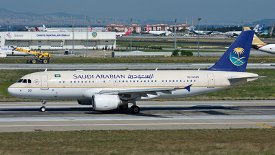 HZ-AS20 - Airbus A320-214 - Saudi Arabian Airlines