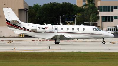 N554QS - Cessna 560XL Citation XLS - NetJets Aviation