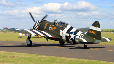 G-CDVX - Republic P-47G Thunderbolt - Private
