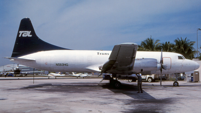 N583HG - Convair CV-580 - Trans Air Link