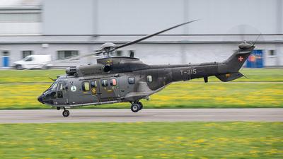 T-315 - Aérospatiale AS 332M1 Super Puma - Switzerland - Air Force