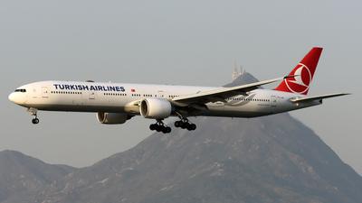 A picture of TCJJS - Boeing 7773F2(ER) - Turkish Airlines - © Alvin Ho - AHKGAP