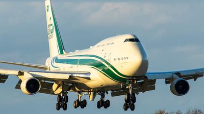 HZ-WBT7 - Boeing 747-4J6 - Kingdom Holding Company