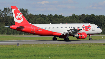 D-ABHH - Airbus A320-214 - Air Berlin