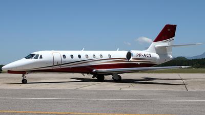PP-ACV - Cessna 680 Citation Sovereign - Global Táxi Aéreo