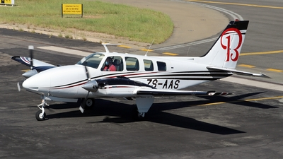 ZS-AAS - Beechcraft 58 Baron - Private