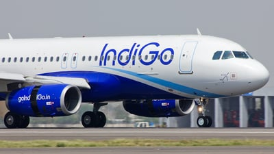 VT-IED - Airbus A320-232 - IndiGo Airlines