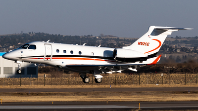 A picture of N92CE - Embraer Legacy 450 - [55010050] - © Michael Place