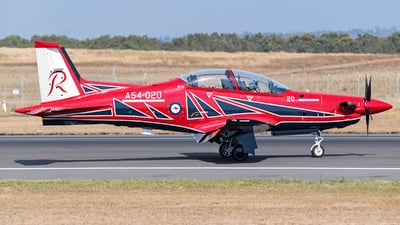 A54-020 - Pilatus PC-21 - Australia - Royal Australian Air Force (RAAF)