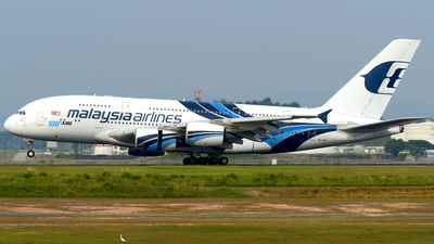 A picture of 9MMNF - Airbus A380841 - Malaysia Airlines - © Ahmad Sallehuddin A.Sahak