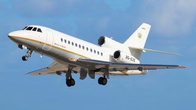 9G-EXE - Dassault Falcon 900EX - Ghana - Government
