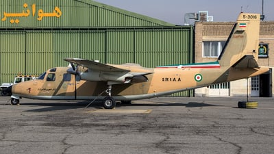 5-3016 - Rockwell 690A Turbo Commander - Iran - Army