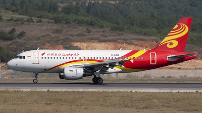B-6212 - Airbus A319-115 - Lucky Air
