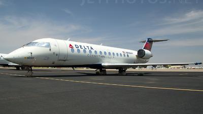 A picture of N830AY - Mitsubishi CRJ200LR - [8030] - © TarmacPhotos.com