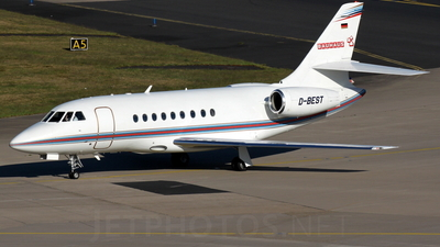 D-BEST - Dassault Falcon 2000EX - DAS - Direct Air Service