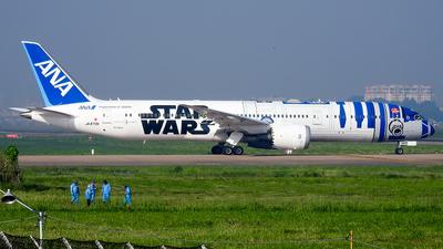 A picture of JA873A - Boeing 7879 Dreamliner - All Nippon Airways - © Sieu Viet - SFAP