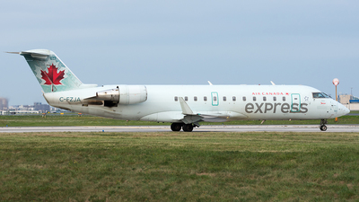 C-FZJA - Bombardier CRJ-200ER - Air Canada Express (Jazz Aviation)
