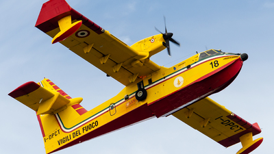 A picture of IDPCT - Canadair CL415 - [2029] - © Mj_Aviation