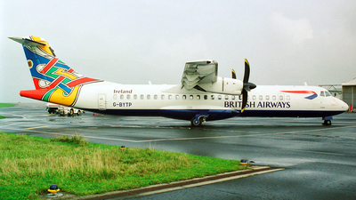 G-BYTP - ATR 72-212 - British Airways (CityFlyer Express)