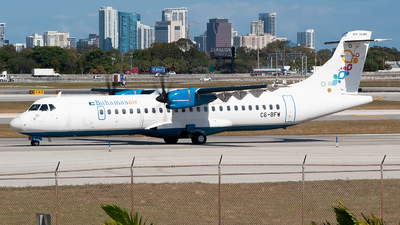 A picture of C6BFW - ATR 72600 - Bahamasair - © Mark Lawrence