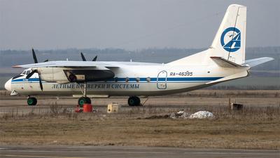 RA-46395 - Antonov An-24B - Letnye Proverki I Sistemy