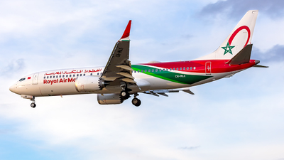 CN-MAX - Boeing 737-8 MAX - Royal Air Maroc (RAM)