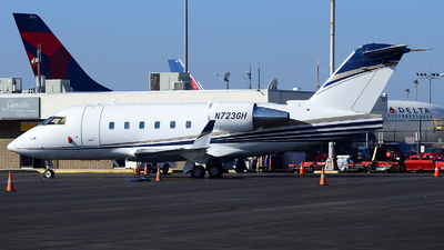 N723GH - Bombardier CL-600-2B16 Challenger 601-3A - Private