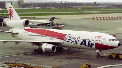 G-BJZE - McDonnell Douglas DC-10-10 - Cal Air