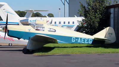 A picture of GAEEG - Miles M3A Falcon - [216] - © n94504