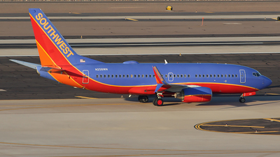 A picture of N258WN - Boeing 7377H4 - Southwest Airlines - © Alexander Aston