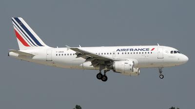F-GRHE - Airbus A319-111 - Air France