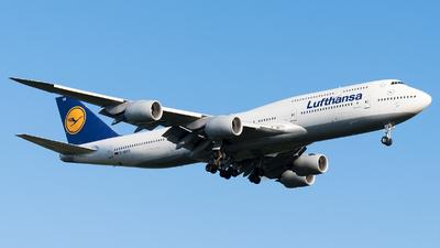 D-ABYO - Boeing 747-830 - Lufthansa