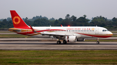 F-WHUF - Airbus A320-214 - Chengdu Airlines
