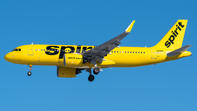 A picture of N918NK - Airbus A320271N - Spirit Airlines - © Evan Dougherty